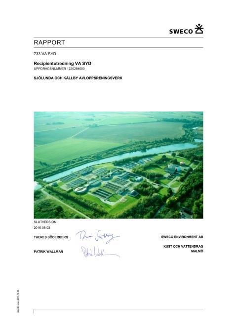 Bilaga 2 - Lunds framtida avloppsvattenrening