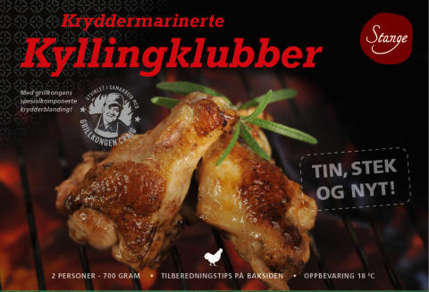 Kyllingklubber Kryddermarinerte