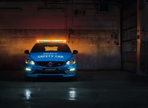 Volvo V60 Polestar blir världens säkraste WTCC Safety Car