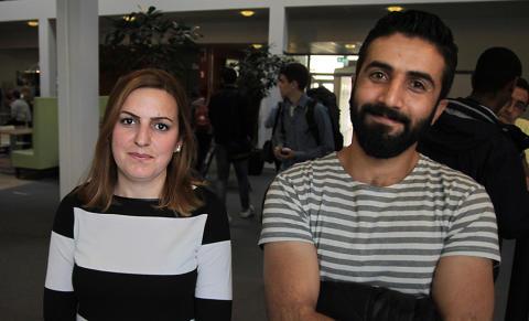 Amina and Goran are going to improve school