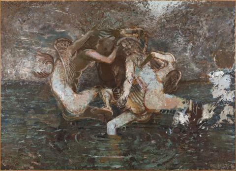 Gunnar Larsson, Brucknermålning, 1996