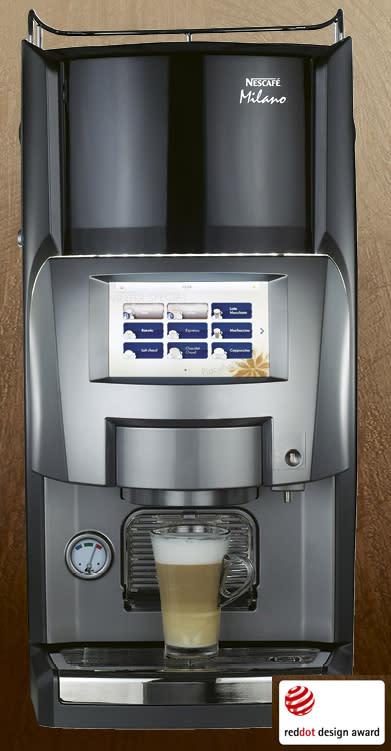 Nestlé Professional lanserar specialkaffelösning som fått uppskattat designpris