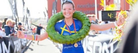 Åsa Lundström 3:a på Ironman 70.3 Bahrain