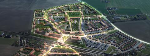 Centrum och fler bostäder i Stångby