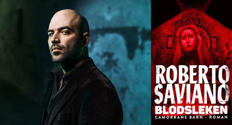 Roberto Saviano till Bokmässan