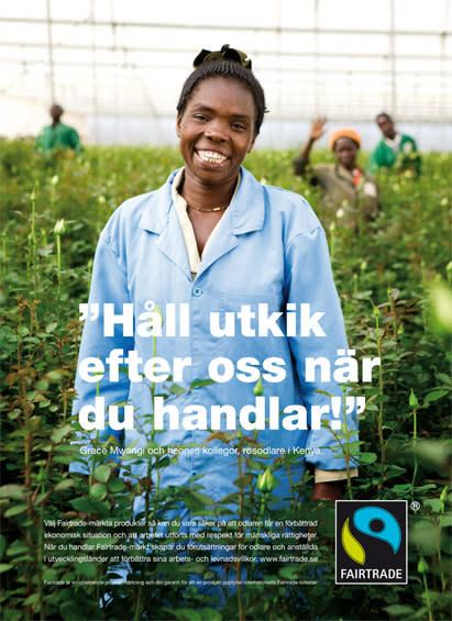 Fairtrade Fokus 2010 - rosodlaren Grace Mwangi