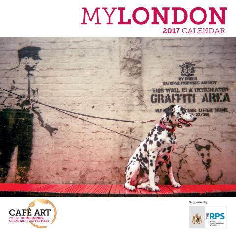 2017 Cafe Art MyLondon calendar