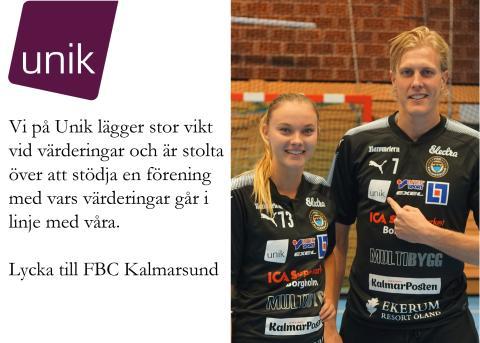 Stolta sponsorer till FBC Kalmarsund