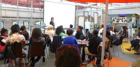 Finansieringsseminarium för afrikanska kvinnor, Arrangör Sisters in Business, USWA och Rizewoman med stöd från Tillväxtverket, Länsstyrelsen Stockholms län och Främja kvinnors företagande.