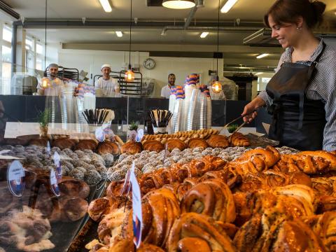 Bröd & Salt öppnar nytt bageri och café