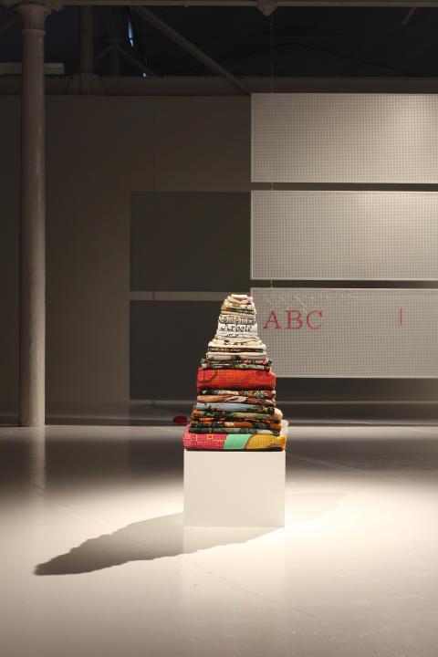 Installationsbild Petra Hultman