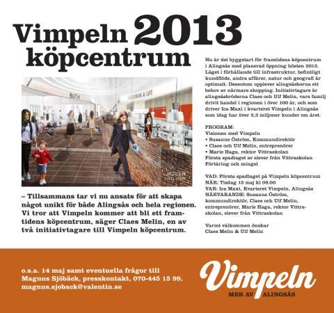 Byggstart för Vimpeln i Alingsås