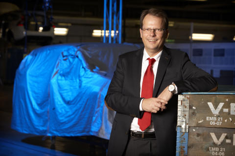 Peter Mertens, Senior Vice President Research and Development, Volvo Car Corporation