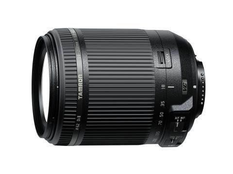 Tamron 18-200 Di II VC Nikon, från sidan