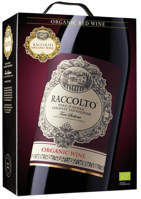 Ny superårgång för ekologiska Raccolto Nero d´Avola Cabernet Sauvignon
