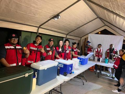 'Migrant Caravan' Receiving Support from The Salvation Army in Mexico