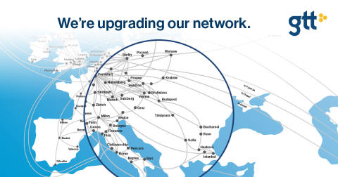 GTT Upgrade network East Europe