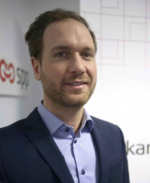 Alexander Ehrborg, försäljningschef, SPP