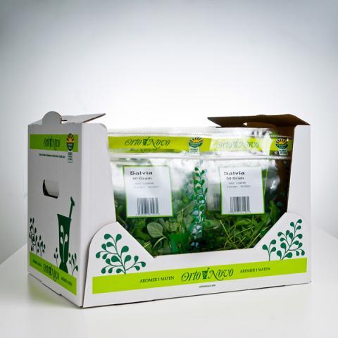 Orto Novo lanserar ny förpackning