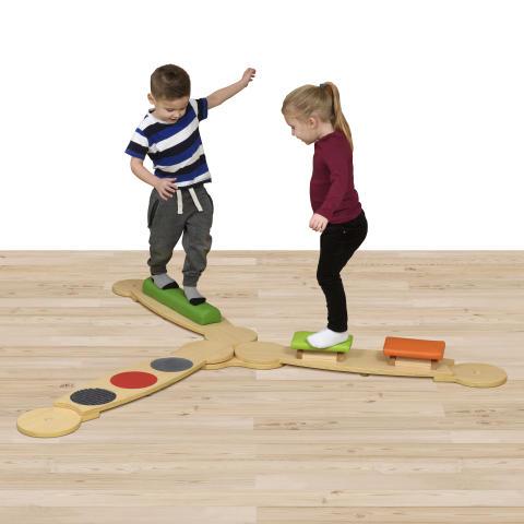 Educational Advantage-Wisdom Sensory Balance Beams Set 1