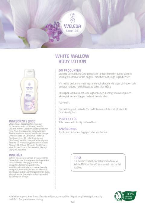 White Mallow Body Lotion