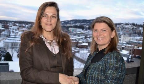 Jaana Røine og Lene W. Conradi