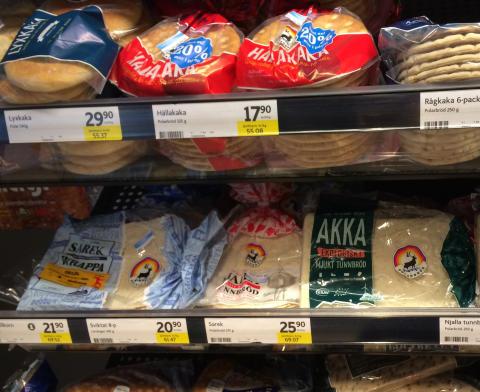 Polarbröd skänker bröd till Matmissionen