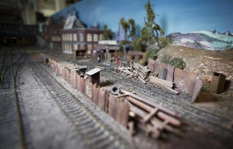 Rekordstor modelljärnväg på Tekniska museet