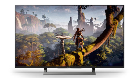Horizon Zero Dawn™ on Sony XD80 4K HDR TV