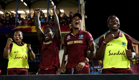 Hosts West Indies Overcome England