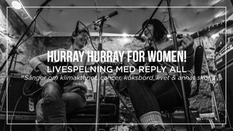 International Women's Day - Live on stage: Reply all