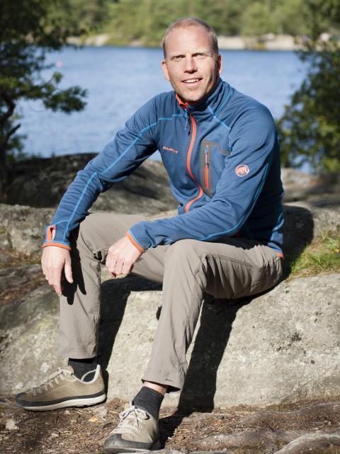 Mathias Hedström - styrelseordförande ISBJÖRN of Sweden