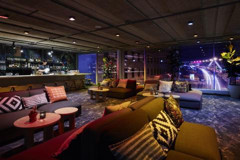 Interiör på Vatos @ Clarion Hotel Stockholm