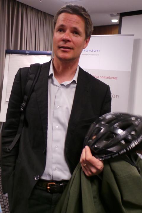 Sven Hunhammar, Klimatchef Naturskyddsföreningen