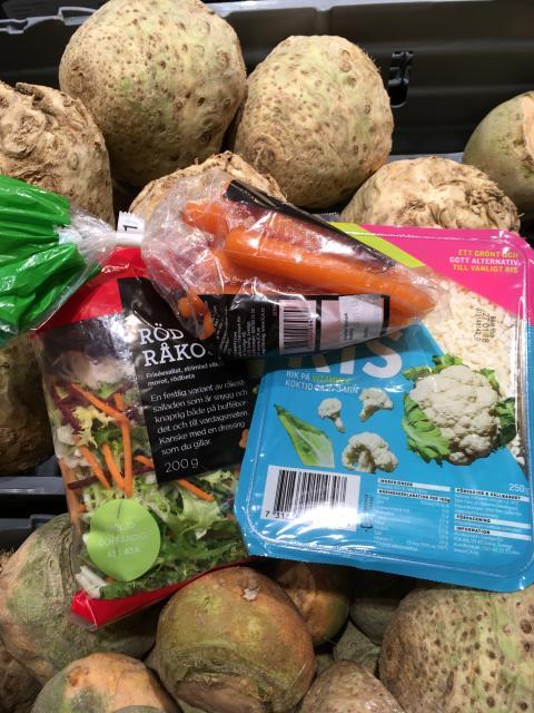 Släng inte grönsakerna!