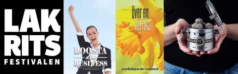 1 500 böcker delas ut på Lakritsfestivalen
