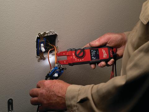 Milwaukee elektrisk tester til elektrikere