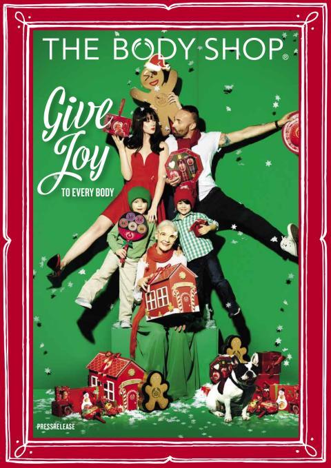 The Body Shop är julens presentdestination