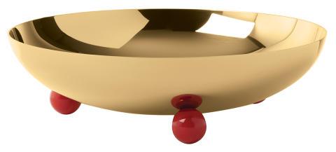 SBT_Penelope_Bowl_26_cm_PVD_Gold_Carnelian_Red