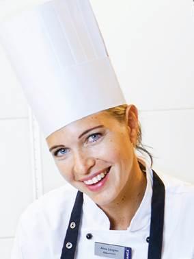 Örebroaren Anna Löfgren skapar Food Tech´s kreativa mat!