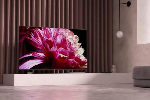 Március elején érkezik Európába a Sony csúcskategóriás XG95 4K HDR LED televíziója
