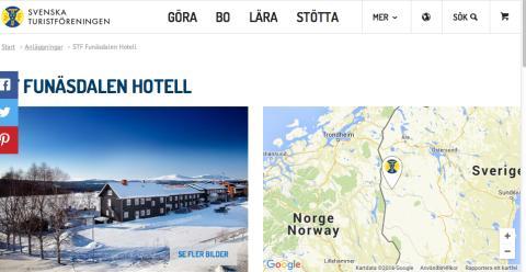 Nytt samarbete mellan Hotell Funäsdalen och STF