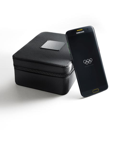 Samsung Galaxy S7 edge Olympic Limited Edition til alle deltagere i Sommer-OL