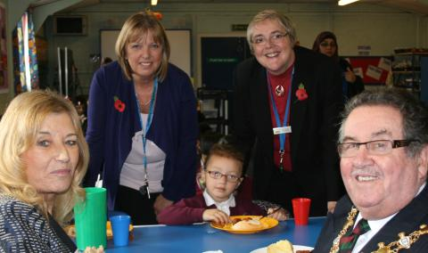 Taste of Mexico at Rochdale school