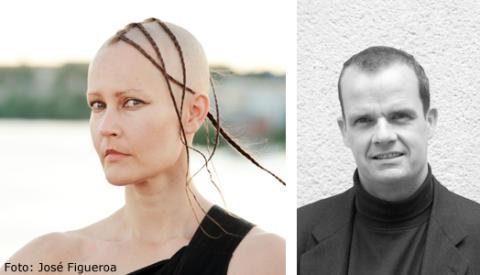 Virpi Pahkinen och Alexander Crawford talar på årets TEDxAlmedalen