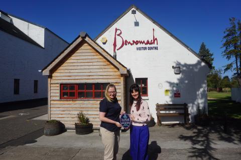 High Spirits as Benromach achieves Five Stars