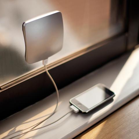 Fönsterladdare för smartphones