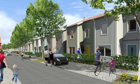 Första byggherredrivna planprocessen i Kungälv är antagen