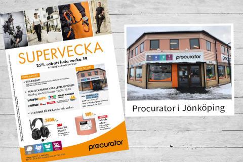 Supervecka på Procurator i Jönköping