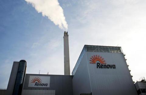 Produktionsrekord på Renovas avfallskraftvärmeverk i Sävenäs